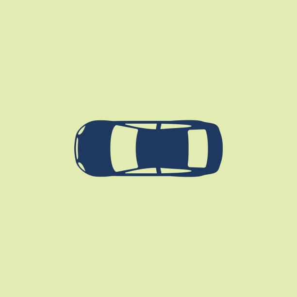 車 (上から見る) アイコン - 車点のイラスト素材/クリップアート素材/マンガ素材/アイコン素材