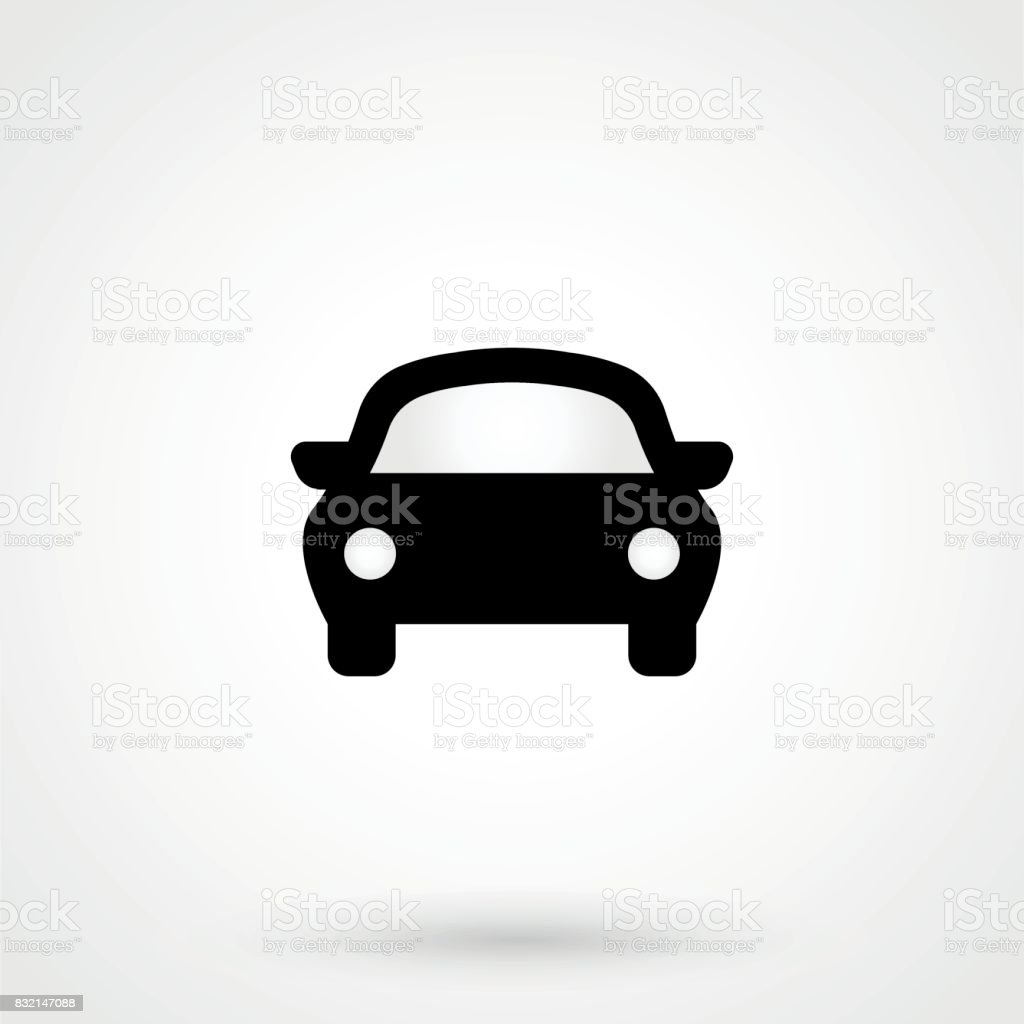 Car Icon Stock Vector Art More Images Of Above Istock