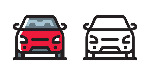 car icon - car stock illustrations