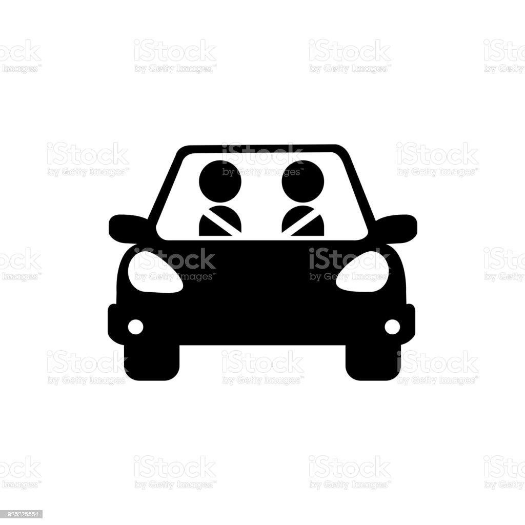 Car Icon Stock Vector Art & More Images of Black Color 925225554 ...