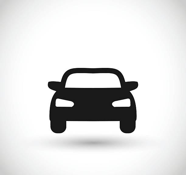 car icon vector illustration - car stock illustrations, clip art, cartoons, & icons