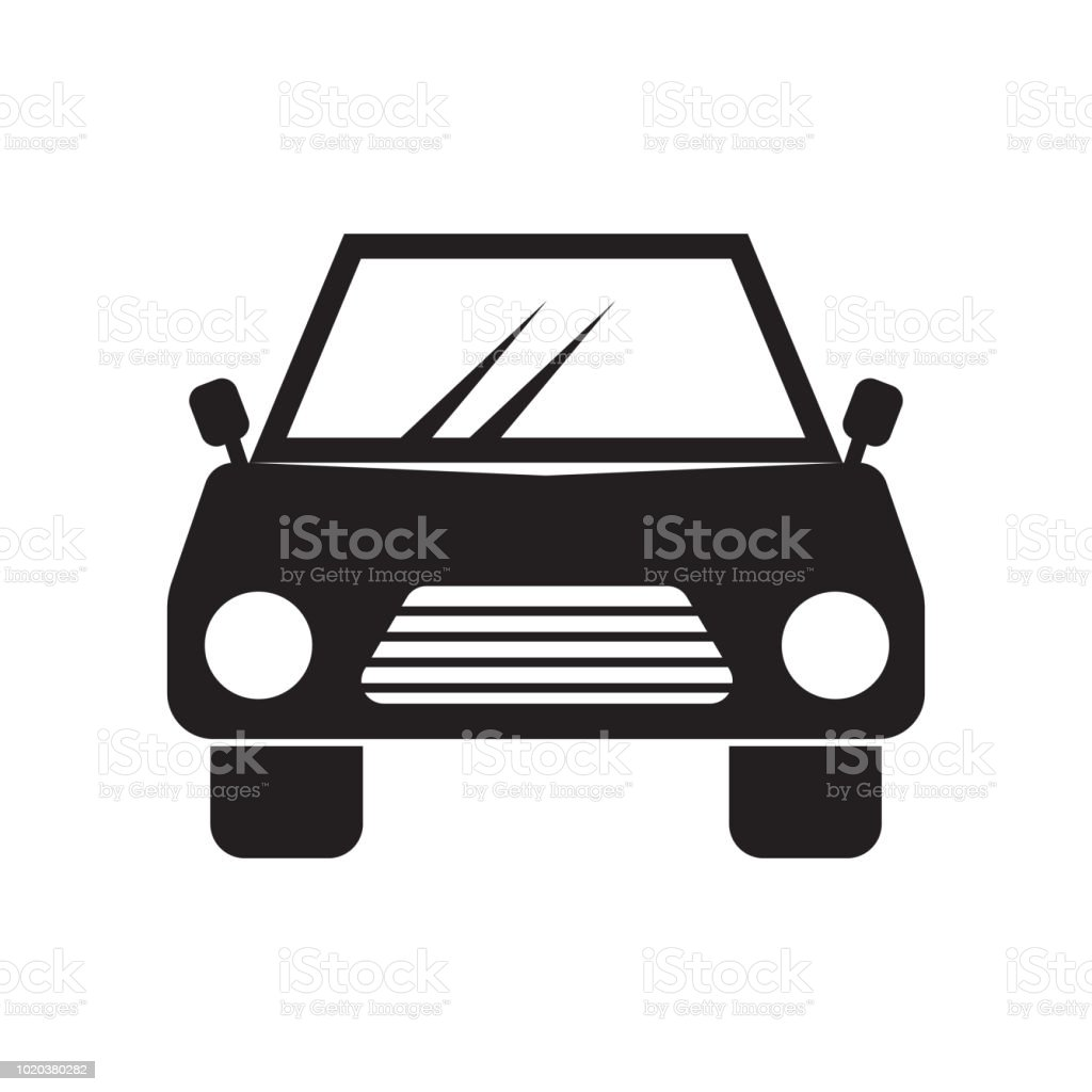 Car Icon Vector Sign And Symbol Isolated On White Background Car