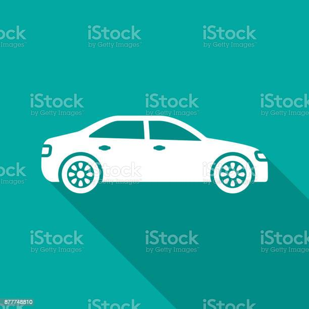 Car icon with long shadow flat design style vector id877748810?b=1&k=6&m=877748810&s=612x612&h=rp6kqdu vpgh16bzdbtmldjfxx9f719kuh9v7 x8xqm=