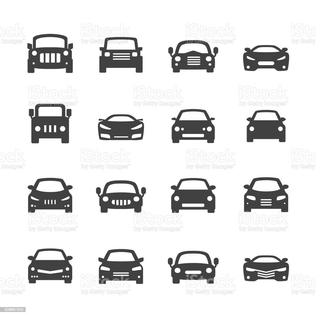 Car Icons - Acme Series royalty-free stock vector art