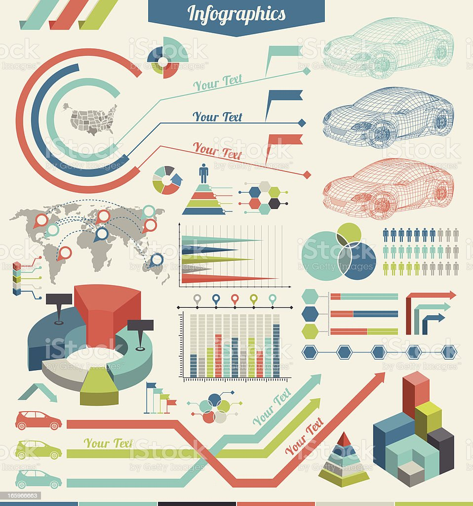 Car Infographic Elements royalty-free car infographic elements stock vector art & more images of abstract