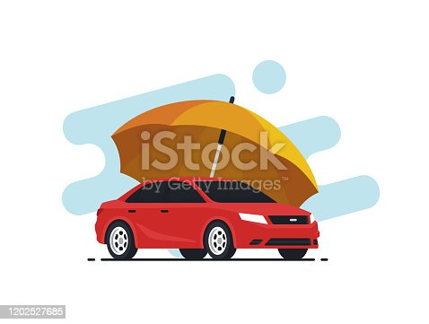 istock Car insurance concept 1202527685