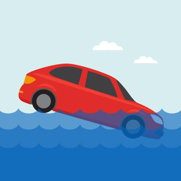 Icono de seguros de coche - ilustración de arte vectorial