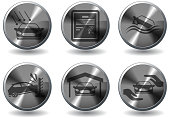 Car Insurance Icons. EPS 10 file. See also: