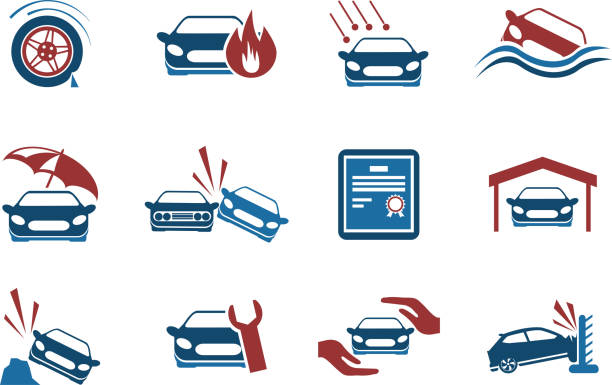 Royalty Free Car Insurance Clip Art, Vector Images ...
