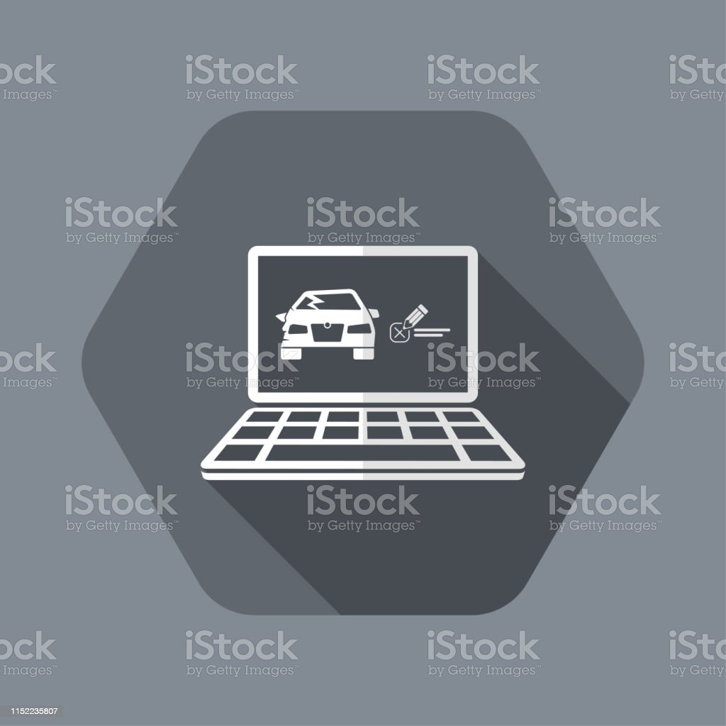 Car Insurance Online Page Stock Illustration Download Image Now Istock