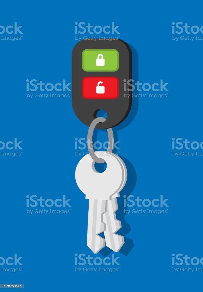 Car Keys Flat
