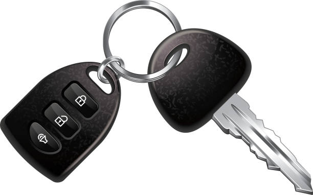 Royalty Free Car Key Clip Art, Vector Images ...