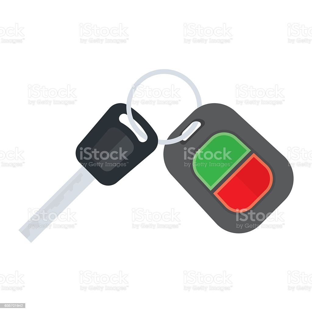 car keys on a white background royalty-free car keys on a white background stock vector art & more images of accessibility