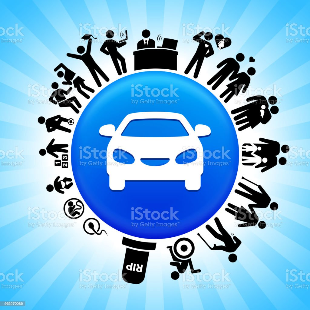 Car  Lifecycle Stages of Life Background royalty-free car lifecycle stages of life background stock vector art & more images of adolescence