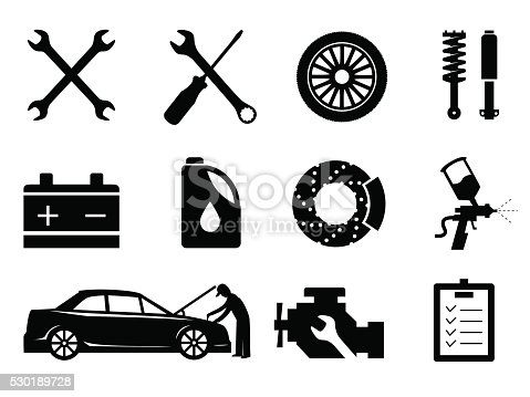 Car And Hand Holding Wrench Vector Auto Parts Store - Car Service Vector  Png - Free Transparent PNG Clipart Images Download