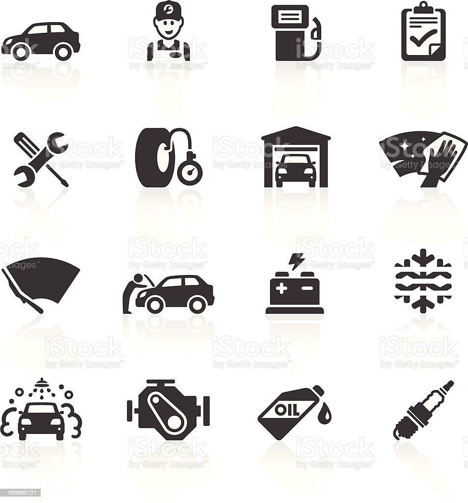 Instandhaltung & Care Symbole – Vektorgrafik