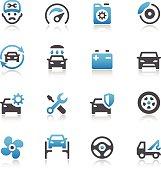 Car Maintenance Service Icons