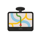 Car navigator device. GPS navigation
