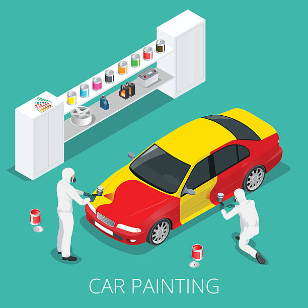 an analysis of the car painting process Although the time frame for painting a car may vary based on how long does it take to paint a car a: the process of painting a vehicle is often lengthened by.