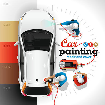 Car Painting Station
