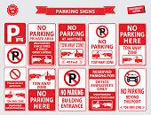 istock Car Parking Sign 543481794
