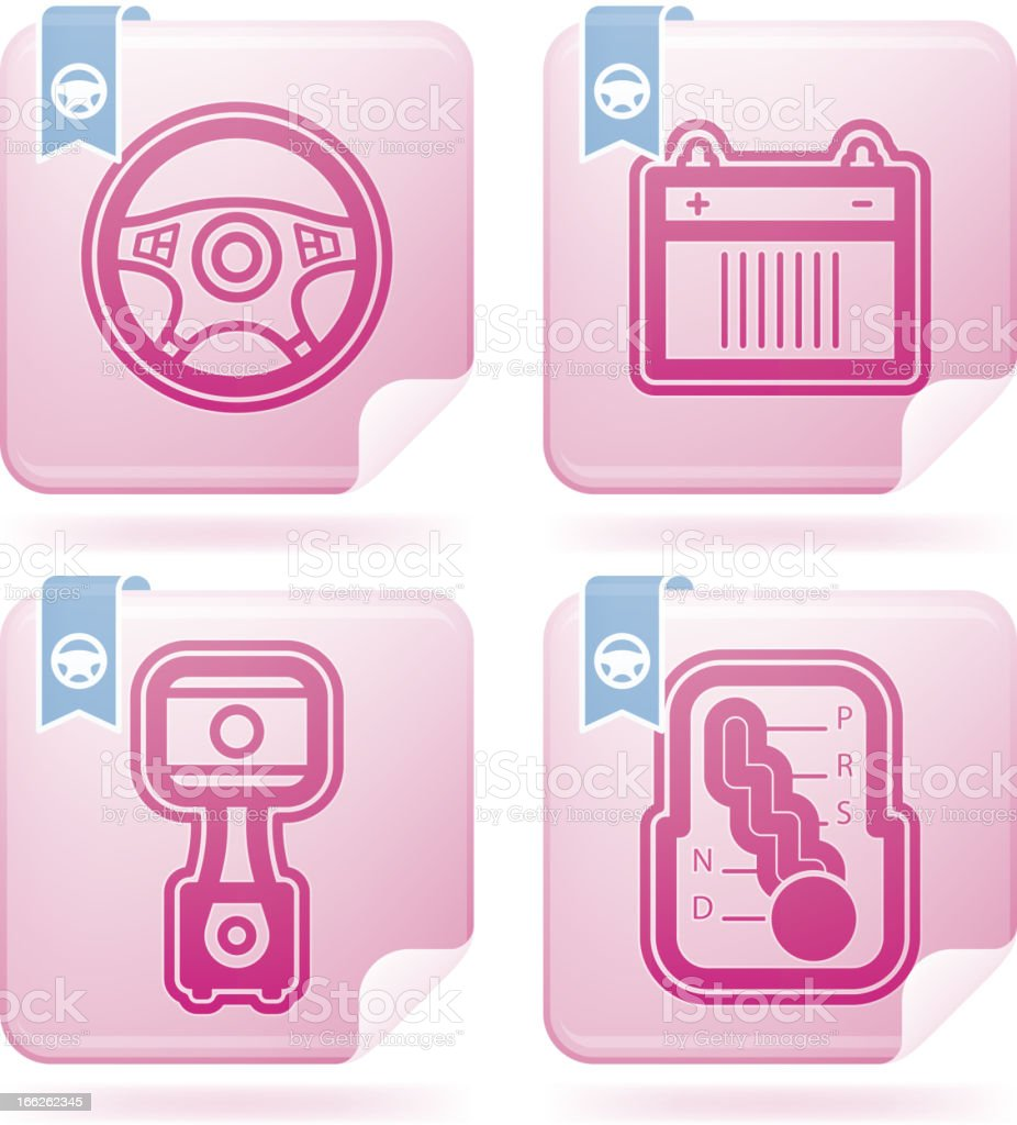 Car parts royalty-free car parts stock vector art & more images of battery