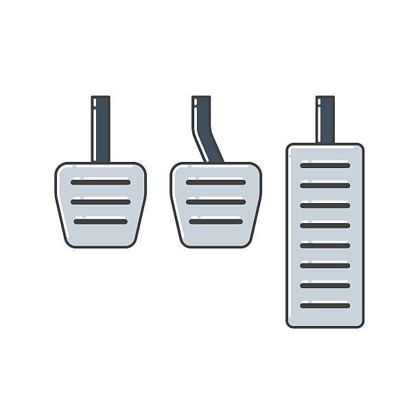 ilustraciones, imágenes clip art, dibujos animados e iconos de stock de coche de pedales - pedal