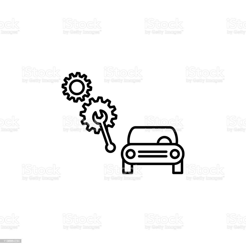 Car Repair Equipment Icon Can Be Used For Web Logo Mobile