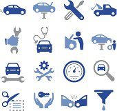 Car Repair Icons - Pro Series