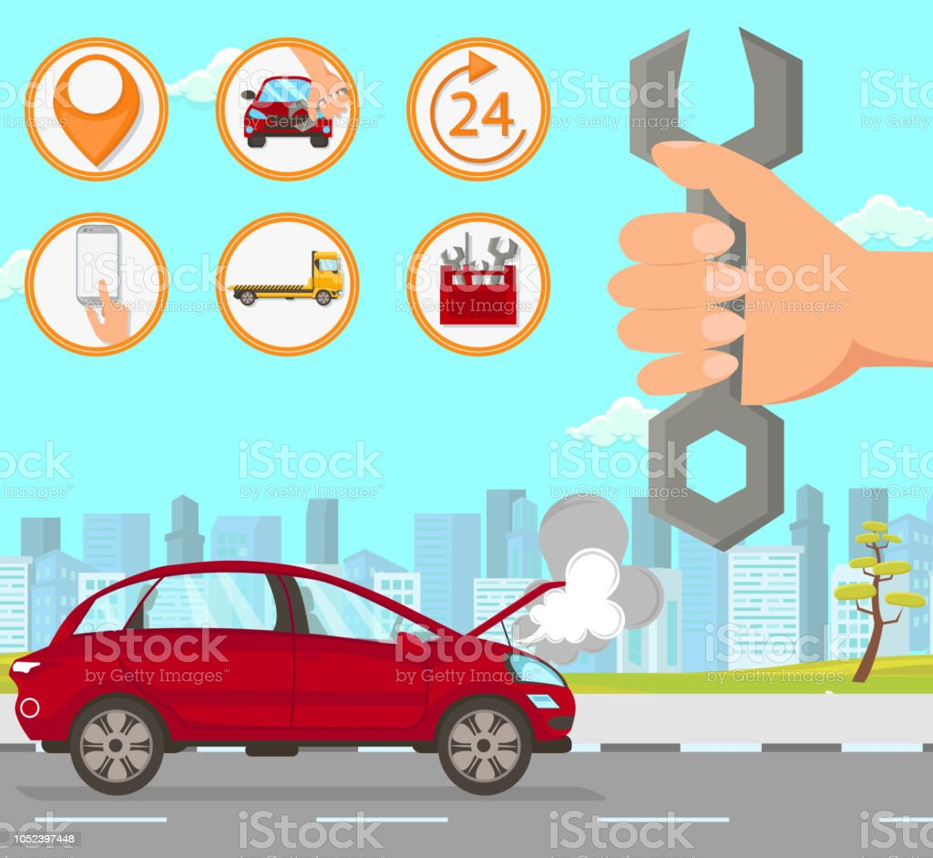 Car Repair in city. Driver Services in City. Transportation company...