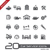 Car Service Icons - Basics