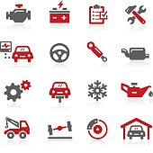 Car Service Icons // Redico Series