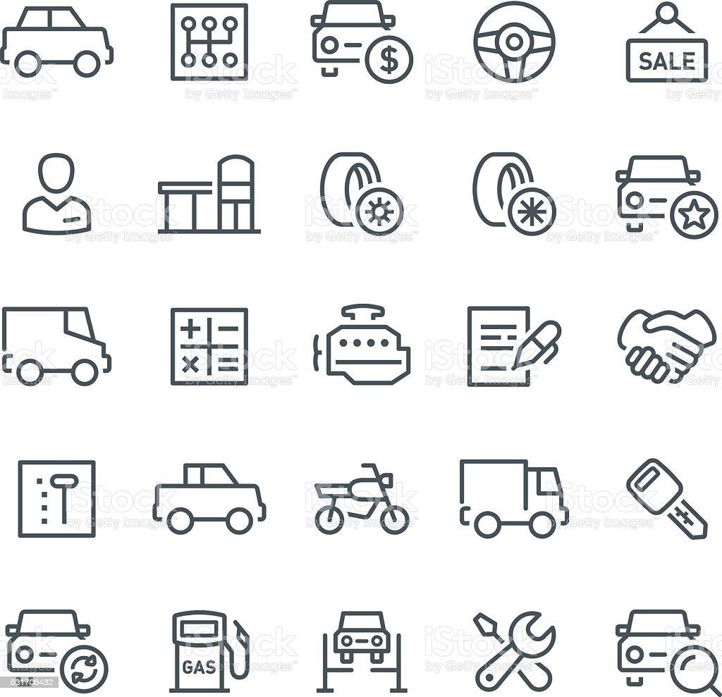Auto-Service-Symbol – Vektorgrafik