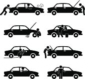 Car Service Pictogram