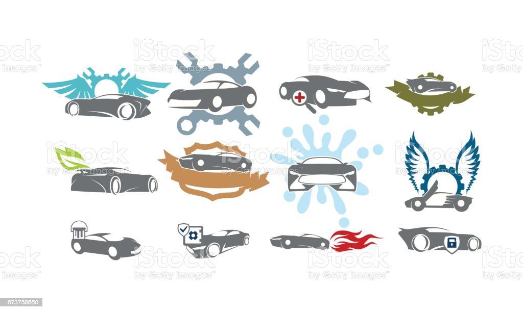 Auto Service Set Identifier Bundle Collections auto service set identifier bundle collections – cliparts vectoriels et plus d'images de affaires libre de droits