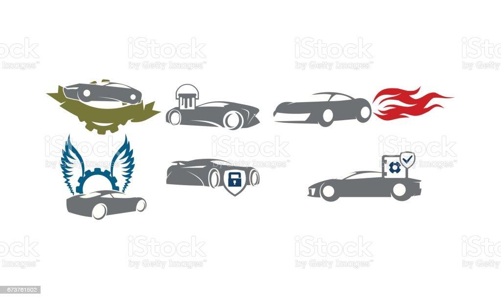 Auto Service Set Identifier Collections auto service set identifier collections – cliparts vectoriels et plus d'images de affaires libre de droits
