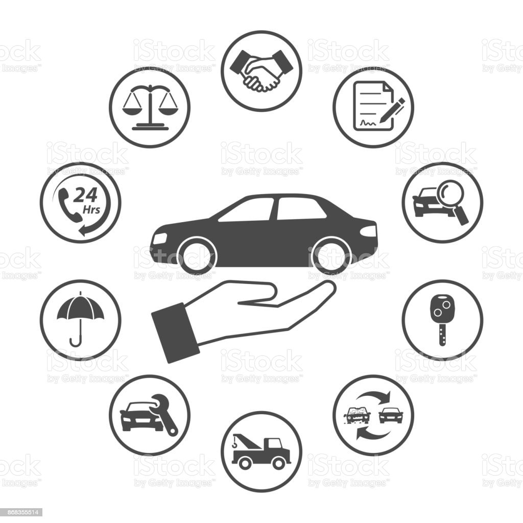 car simple rounded icons set vector icon design stock vector art M Car Inside car simple rounded icons set vector icon design royalty free car simple rounded