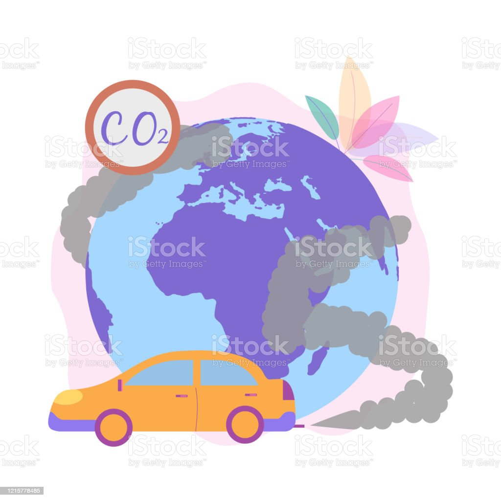 Green Circle clipart - Car, Pollution, Green, transparent clip art