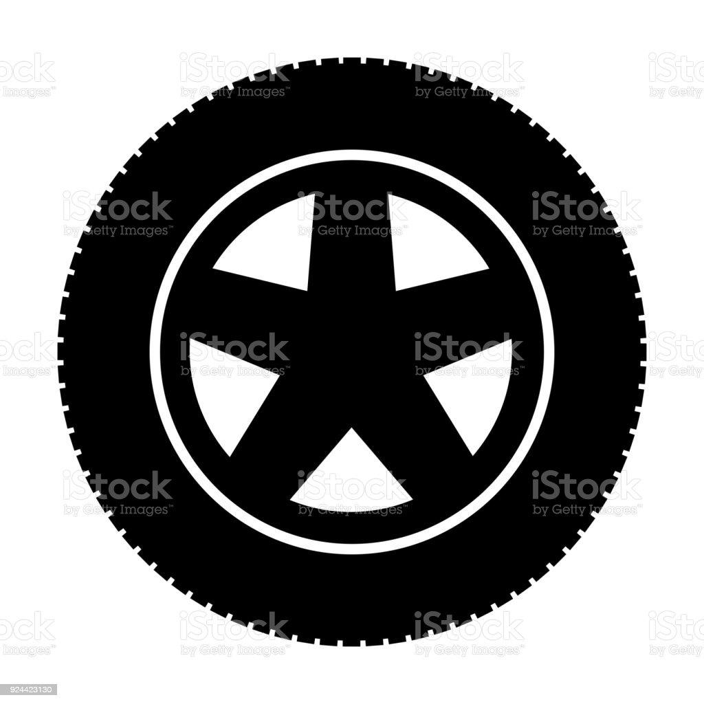 イラスト タイヤ