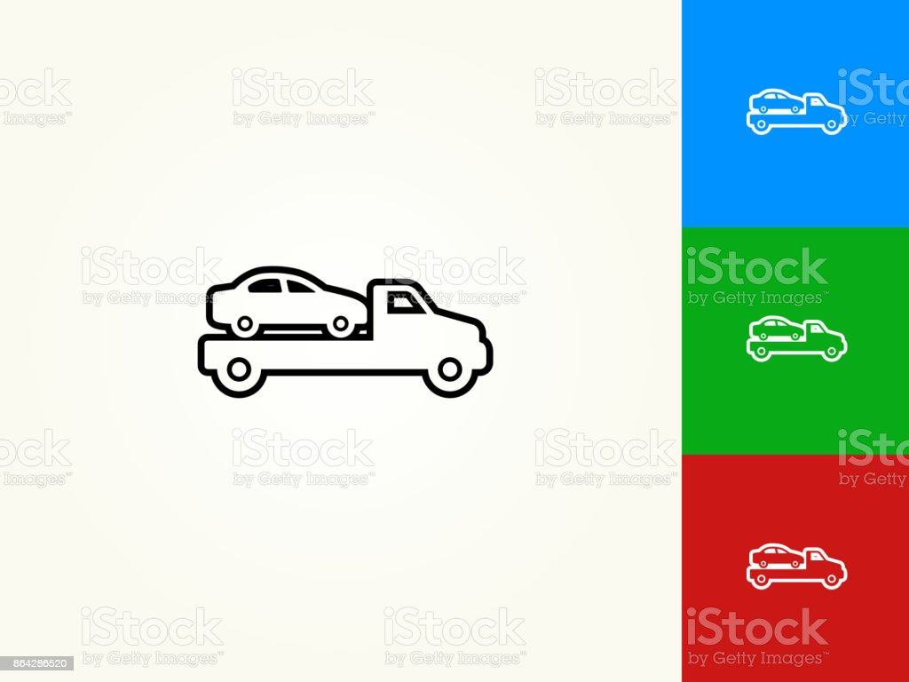 Car Transport Black Stroke Linear Icon royalty-free car transport black stroke linear icon stock vector art & more images of black color