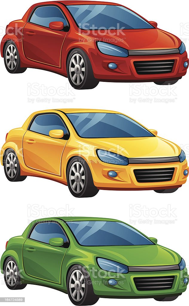 Automobile royalty-free automobile stock vector art & more images of bumper