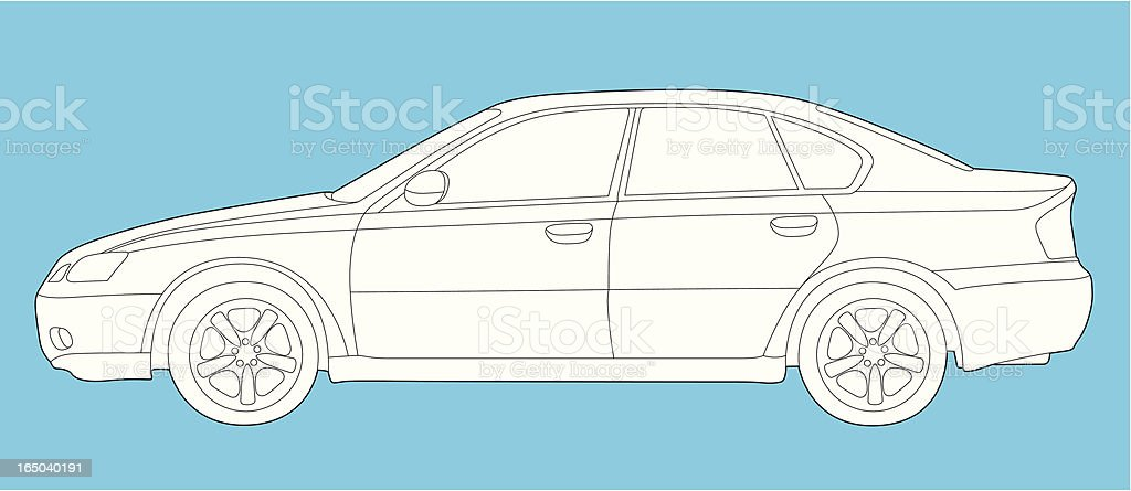 Car royalty-free stock vector art