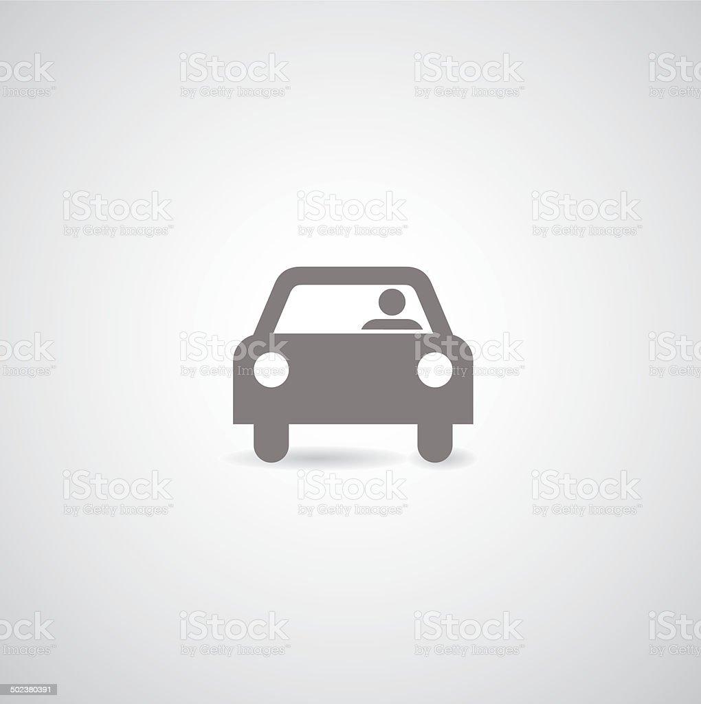 car vector symbol vector art illustration