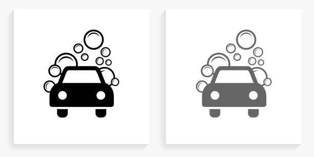 Car Wash Illustrations, Royalty-Free Vector Graphics