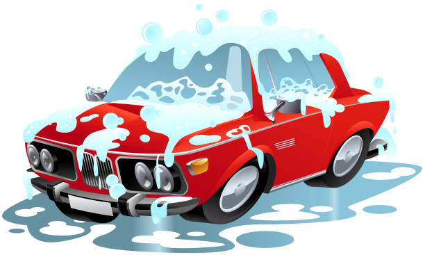 15 Cute Car Wash Signs Clip Art Vector Graphics And Illustrations