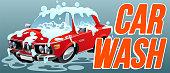 Car Wash Clean Vector Symbol