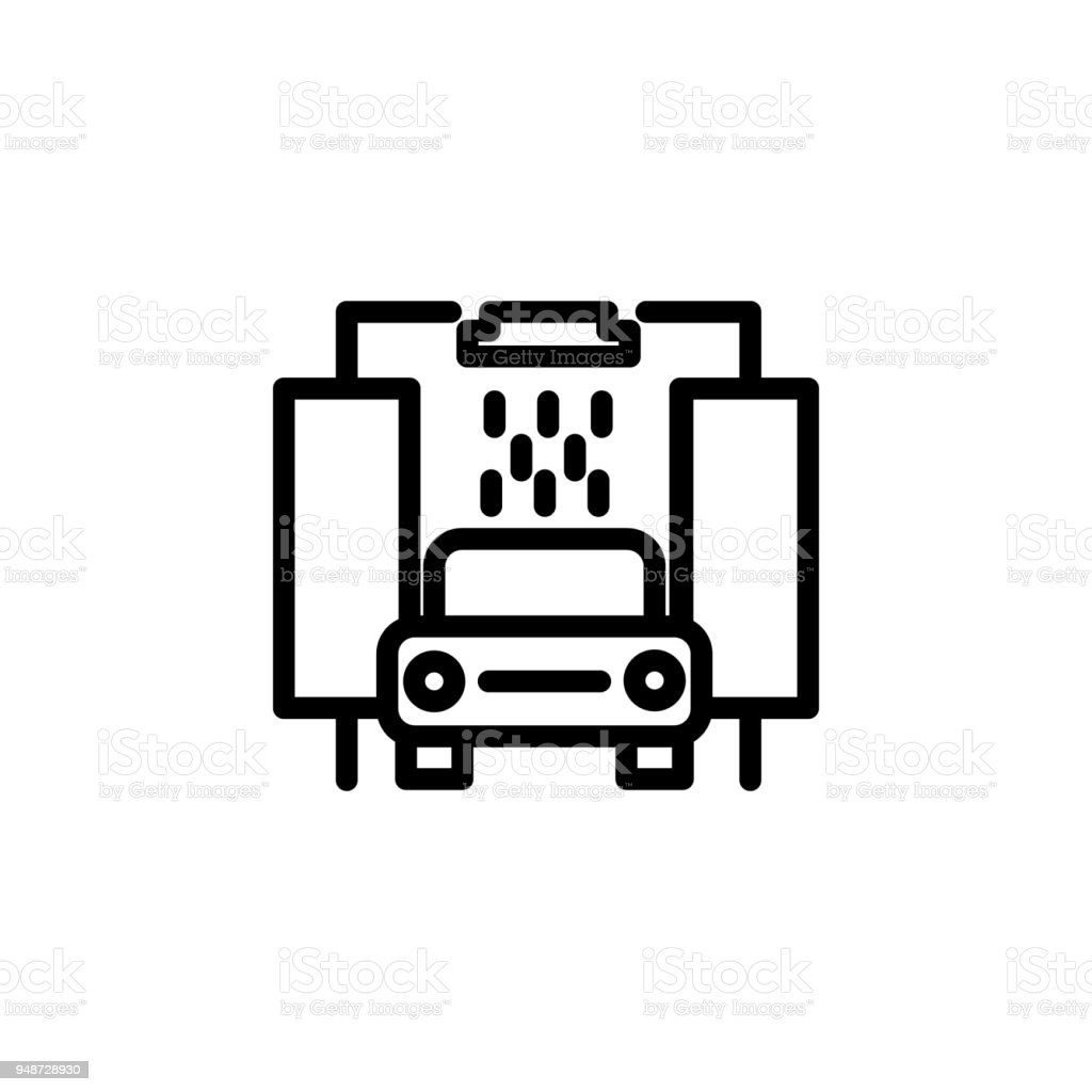 Car Wash Icon Element Of Minimalistic Icons For Mobile Concept And ...