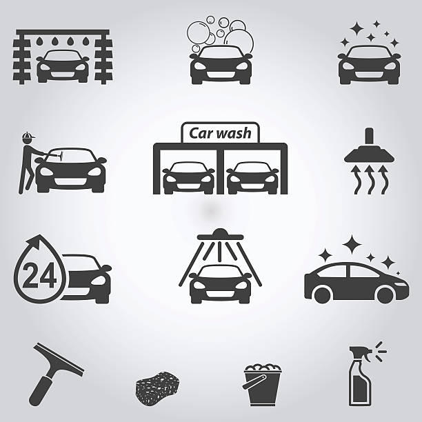 Best Car Wash Illustrations Royalty Free Vector Graphics Clip Art