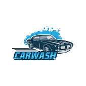 car wash logo fit for your business.isolated white background.EPS 10