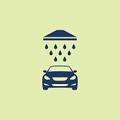 Liquid, Sign, Car Wash, Icon, Washing